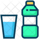 American Football Drink Bottle Icon