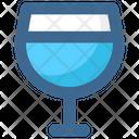Christmas Drink Glass Icon