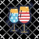 Drink Wine Glasses Celebration Icon