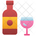 Wine Beer Bottle Alcohol Icon