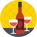 Wine Beer Bottle Icon