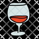 Cognac Drink Alcohol Icon