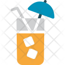 Drink Ice Cubes Icon