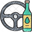 Drink and drive Icon
