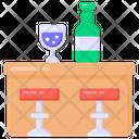 Bar Counter Drink Counter Bar Icon