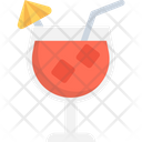 Cocktail Drink Glass Margarita Icon