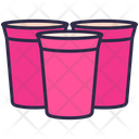 Glass Red Cup Party Icon