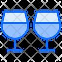 Drink Glass Romance Champaign Icon