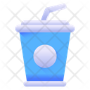 Beverage Drink Glass Disposable Drink Icon