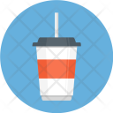 Drink Glass Straw Icon