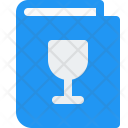 Menu Book Drink Icon