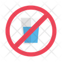 Drink Notallowed Stop Icon