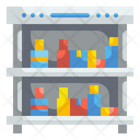 Drink Shelves Drinks Cold Drinks Icon