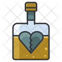 Heartbreak Drinking Sad Icon