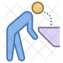 Drinking from fountain Icon