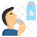 Drink Milk Healthy Icon
