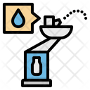 Fountain Drinking Water Icon