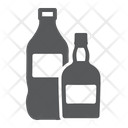 Drinks Soda Whisky Cola Alcohol Supermarket Department Icon