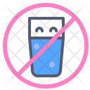 Drinks Fasting Forbidden Prohibited Icon