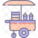 Drinks Stall Drink Shop Kiosk Beverage Booth Icon