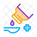 Drip Syrup Into Icon