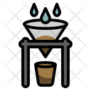 Drip Barista Coffee Shop Icon