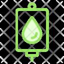 Drip Health Medicine Icon