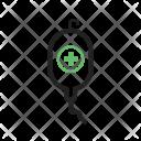 Drip Stand Bottle Icon