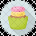 Drip Cupcake Icon