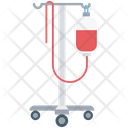 Drip With Stand Iv Drip Saline Drip Icon
