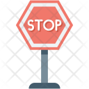Drive Stop Road Icon