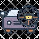 Drive Operate Ride Icon