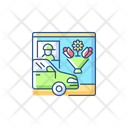 Drive Flower Shop Icon