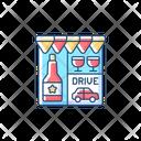 Liquor Store Drive Icon