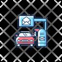 Drive Thru Mailbox Icon