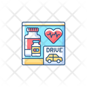 Drive Pharmacy Drugstore Icon
