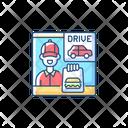 Drive Thru Window Icon