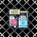 Drive Thru Voting Icon