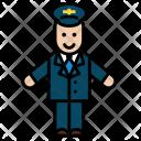 Driver Carseat Person Icon