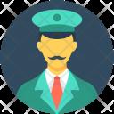 Driver Taxi Pilot Icon