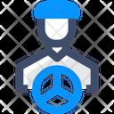 Driver Car Driver Bus Driver Icon