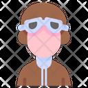 Driver Pilot Soldier Icon