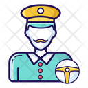 Driver Chauffeur Cabbie Icon