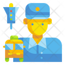 Driver Bus Man Icon
