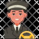 Driver Car Transport Icon