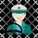 Driver Male Avatar Icon