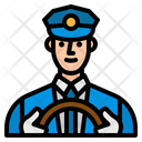 Driver Taxi Transportation Icon