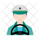 Driver Driving Icon