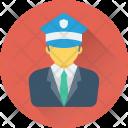 Driver Captain Pilot Icon