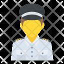 Taxi Driver Profession Icon